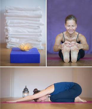 Yoga hos Cecilia Wikner